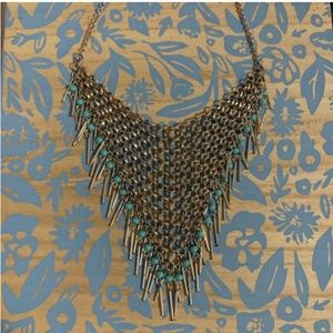 Forever21 Armor Inspired Statement Necklace with
